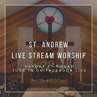 Join Us for Virtual Worship!Parking Lot Service - June 7th